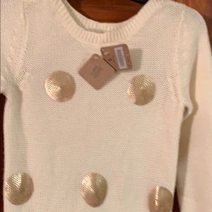 New Crazy 8 Girls sweater dress L 10-12 NWT